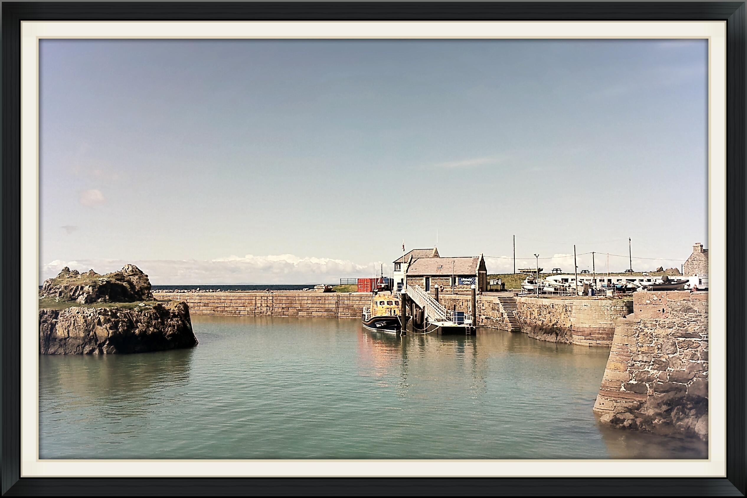 Lifeboat, Portpatrick Harbour