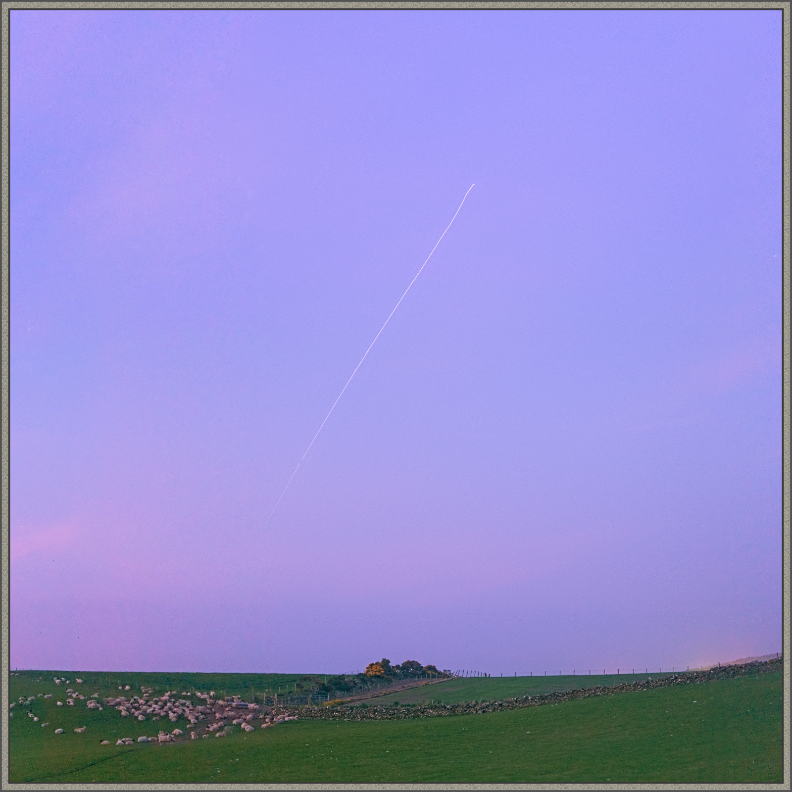 The International Space Station approaching departing to the ESE