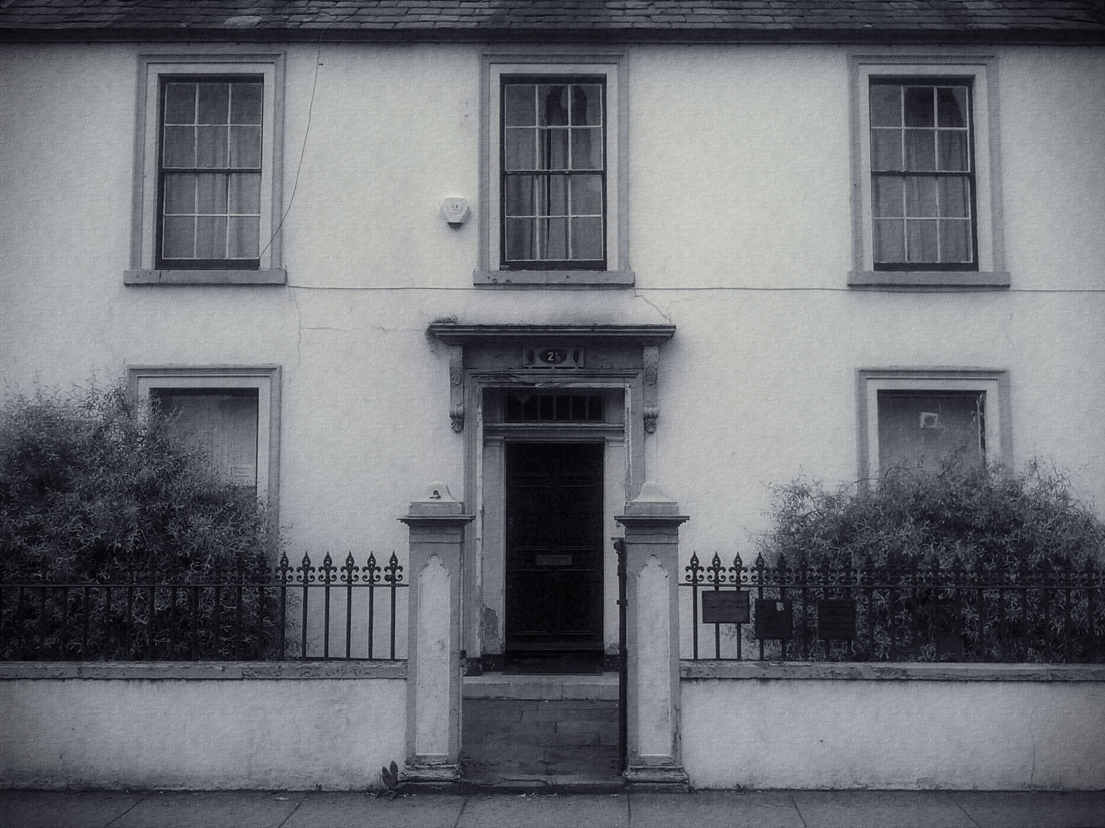 A disused former dental practice building, Lewis Street, Stranraer
