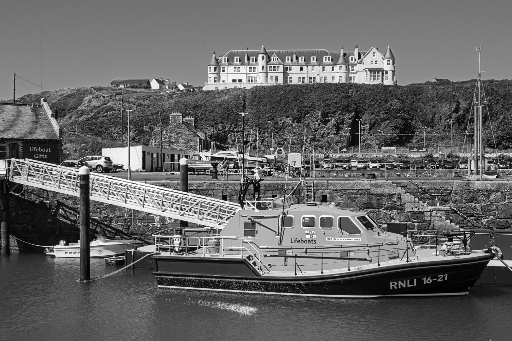 Portpatrick Lifeboat, RNLI 16-21, the RNLB John Buchannan Barr