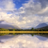 Reflection of clouds in Loch Awe