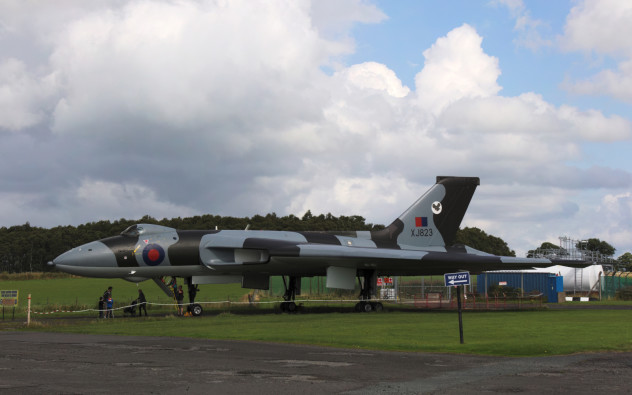 Avro Vulcan XJ823 at the Solway Aviation Museum