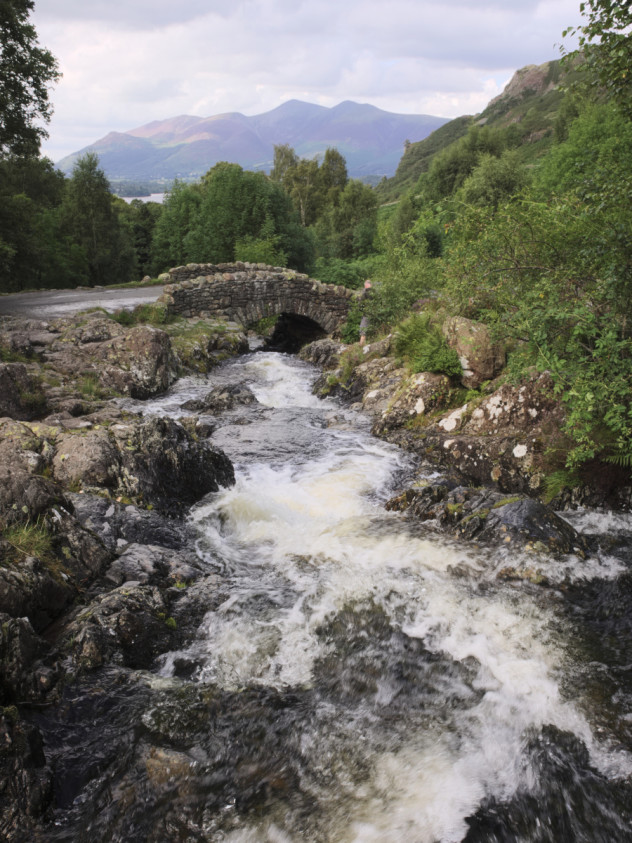 Ashness Bridge. I'm sure there's a photo-opportunity around here somewhere...