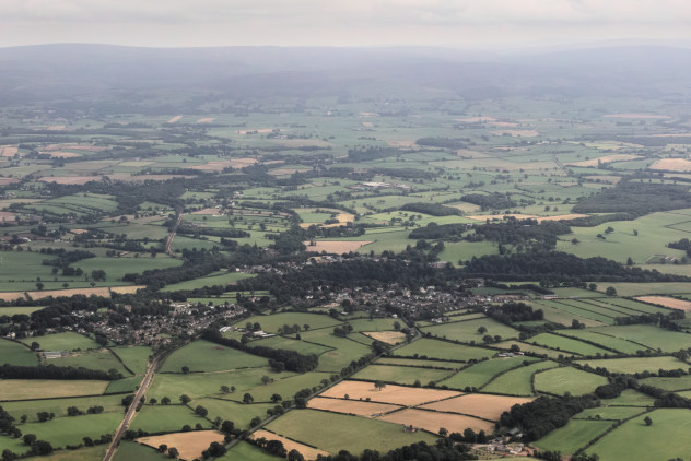 Flying: south of Carlisle