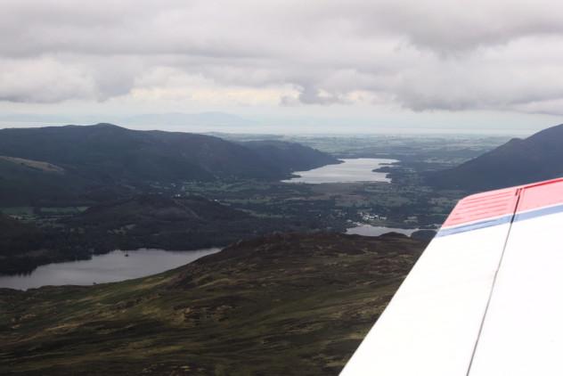Flying: Derwentwater and Bassenthwaite