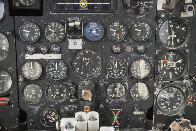 Inside the cockpit: Avro Vulcan XJ823 at the Solway Aviation Museum