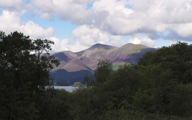 Skiddaw from Lodore