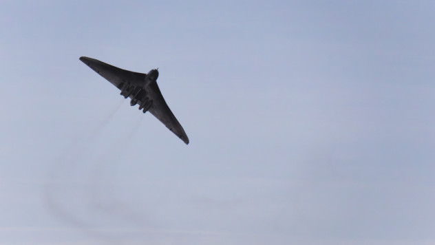 A most amazing aircraft - the Avro Vulcan VH558, with a wonderful loud roar...