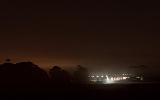 Lights and autumn mist - somewhere out in the middle of a farmer's field in Aberdeenshire late one night taking photos, as you do.