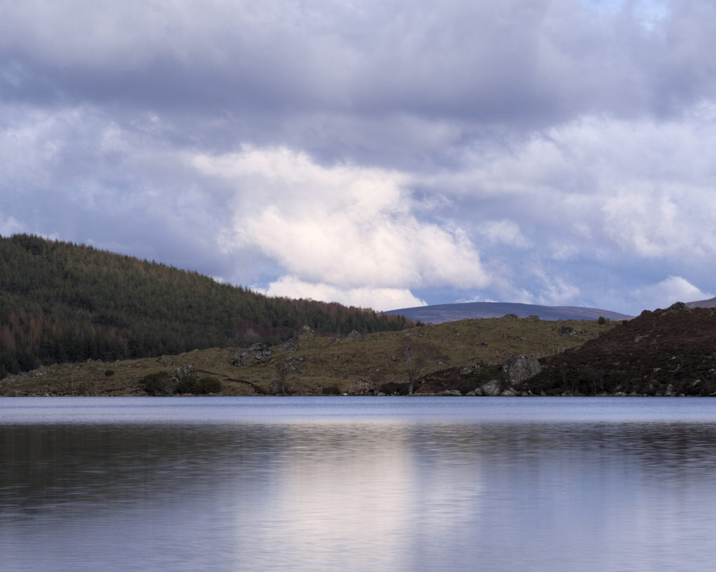 It's just a wee lochan... but it is beautifully quiet up here.  Sit and watch the clouds pass by.