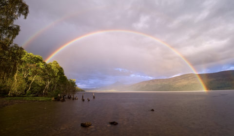 Rainbow and Reflection-bow