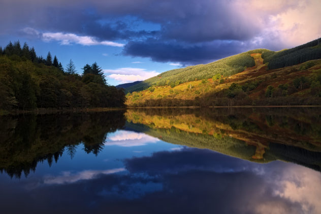There's something about the way the light hits the mountains in Argyll. Pure gold, beautiful reflections in the water.