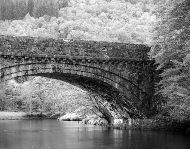 A bridge on the side of Dubh Loch.