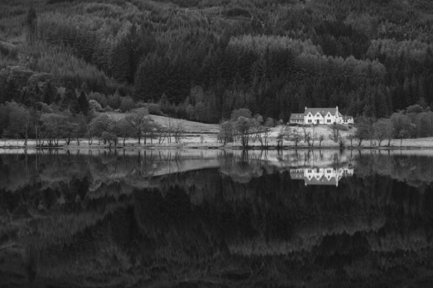 I've been meaning to go check out the reflections in Loch Chon for a few years, having seen other folks' results. It was quite calm - didn't disappoint :)