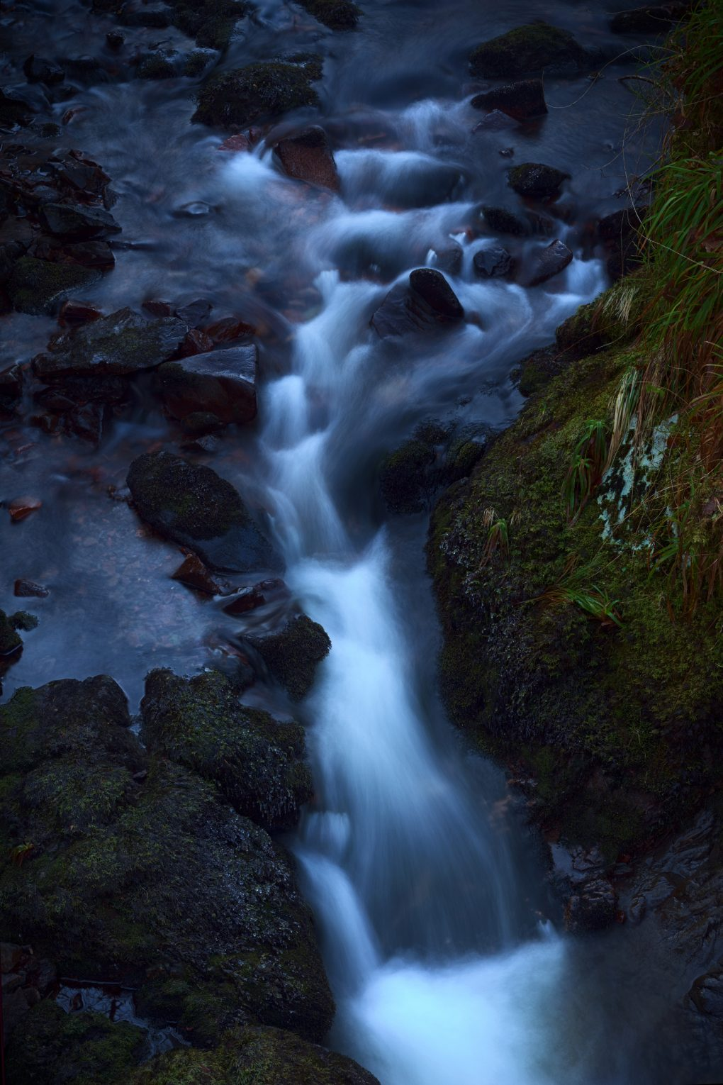 Detail of a small burn in Glen Nant